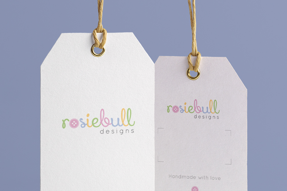 Rosiebull Designs logo design